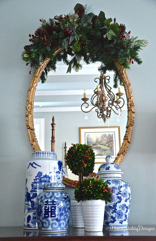 Master Bedroom-Mirror-Chinoiserie-Christmas 2016-Housepitality Designs