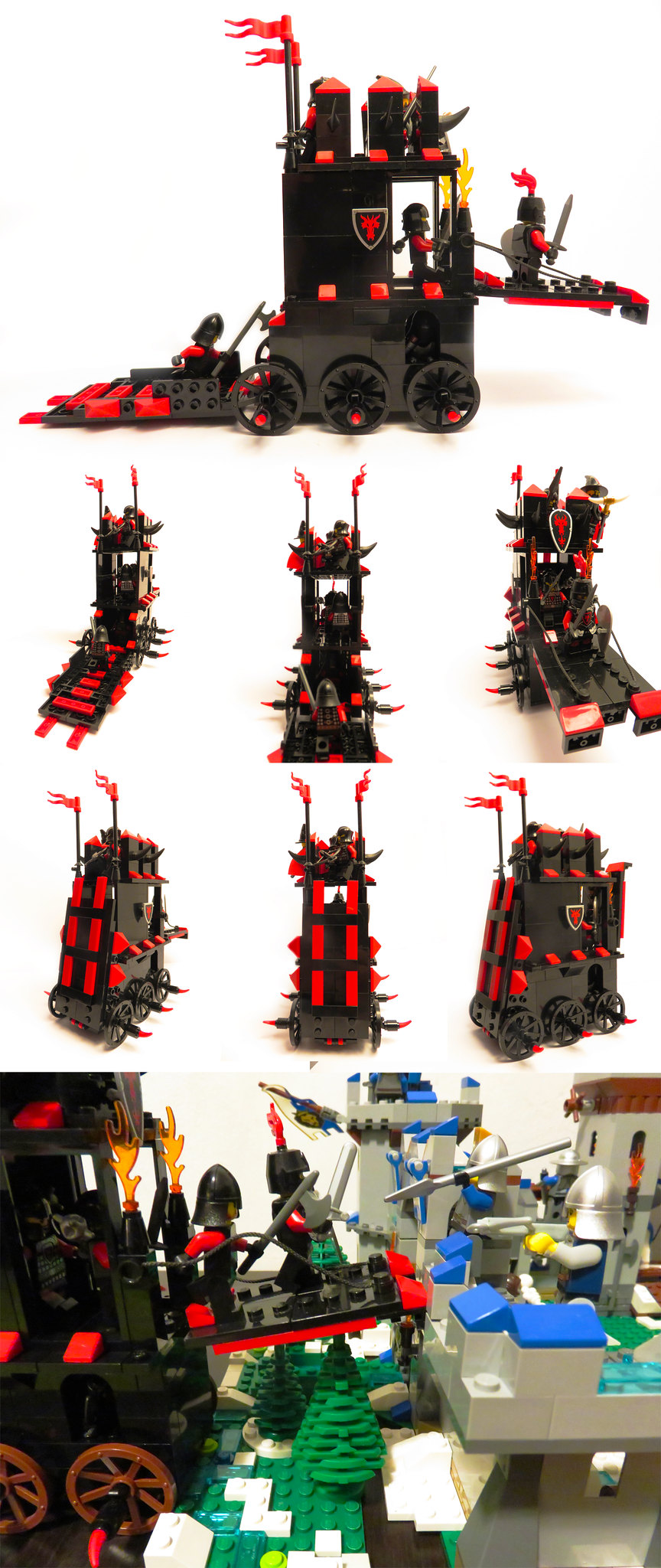 Dragon Knights siege tower