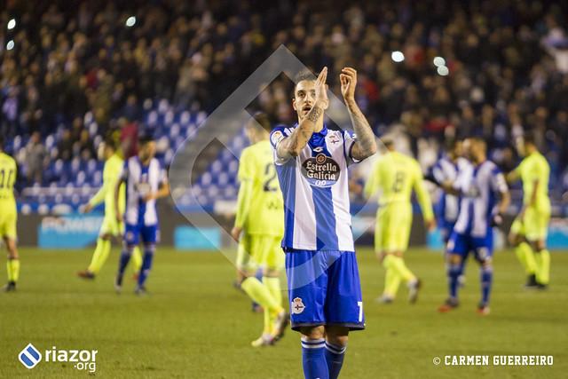 Copa del Rey. 1/16 de final. Deportivo 3 - Betis 1