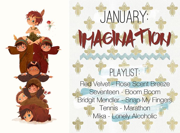 January Imagination