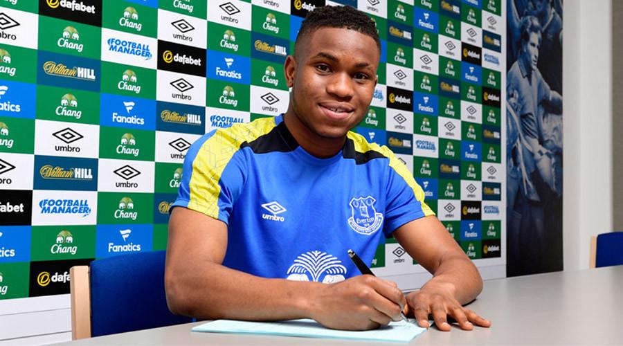Ademola Lookman signs for Everton