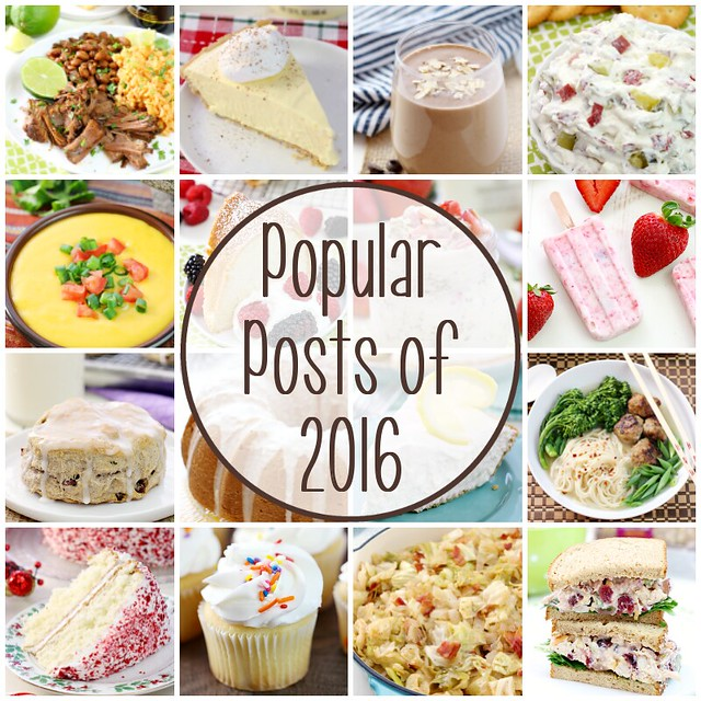 Popular Posts of 2016 - Love Bakes Good Cakes