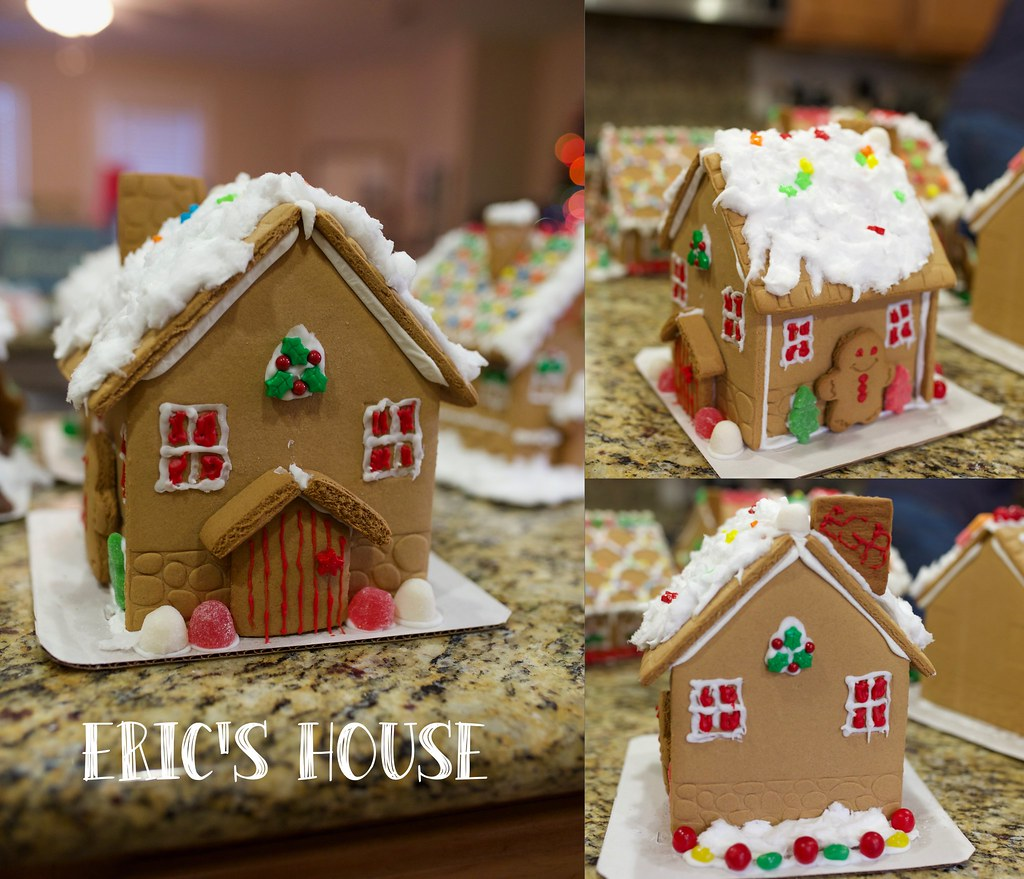 Gingerbread house- E