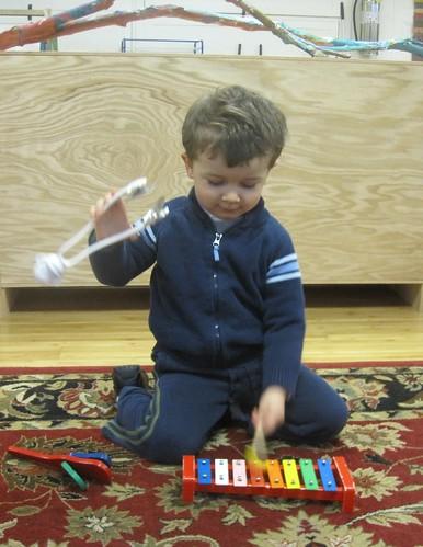 multi-tasking musician