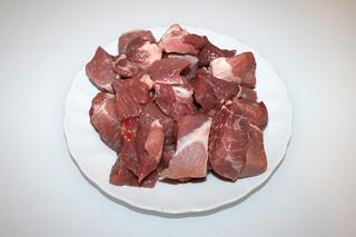01 - Zutat Schweinefleisch / Ingredient pork