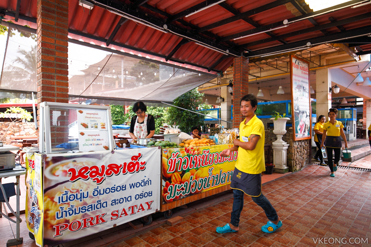 Pupen Seafood Satay Mango Sticky Rice Stalls