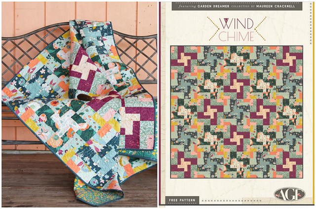 Wind Chime Quilt Pattern