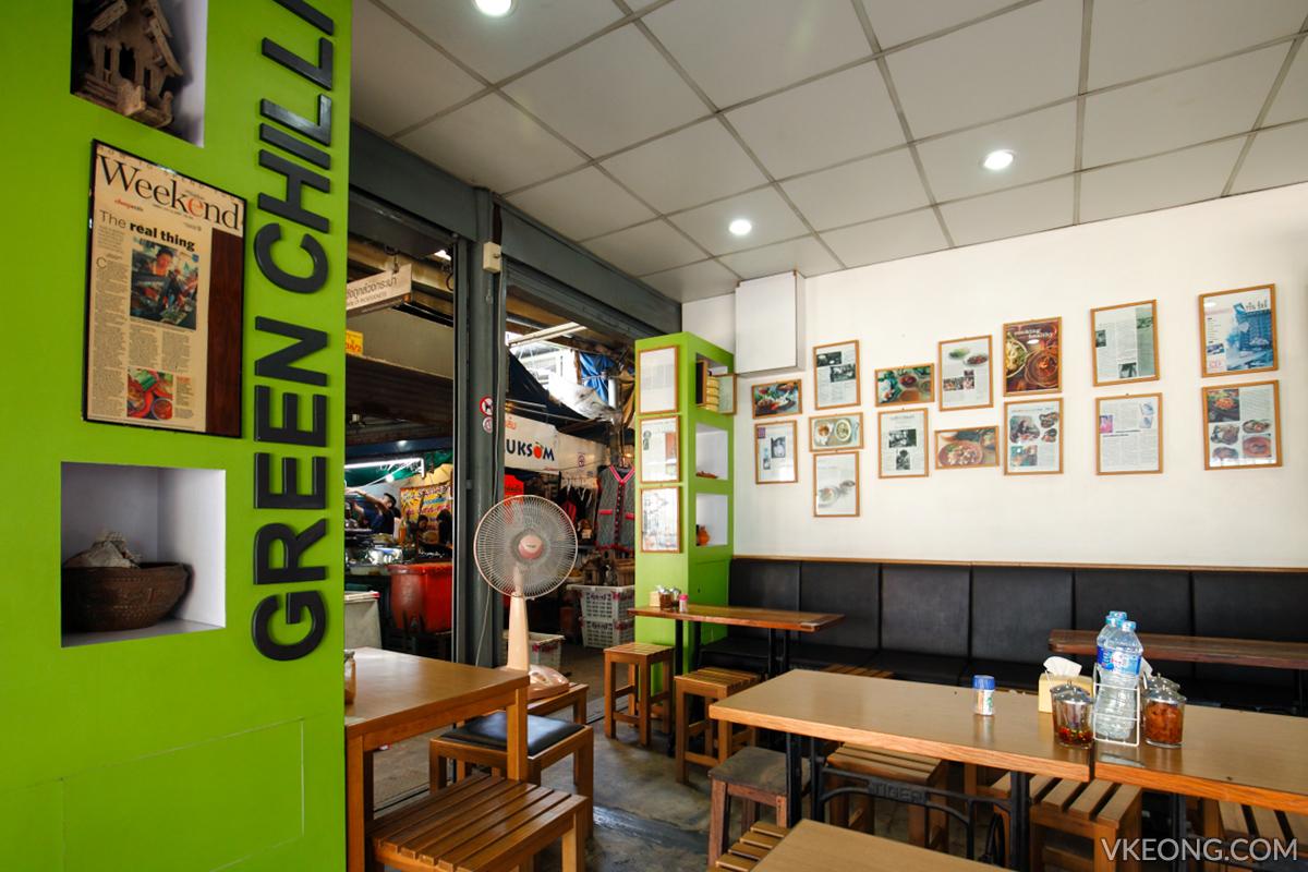 Green Chilli Prik Yuak Chatuchak Weekend Market