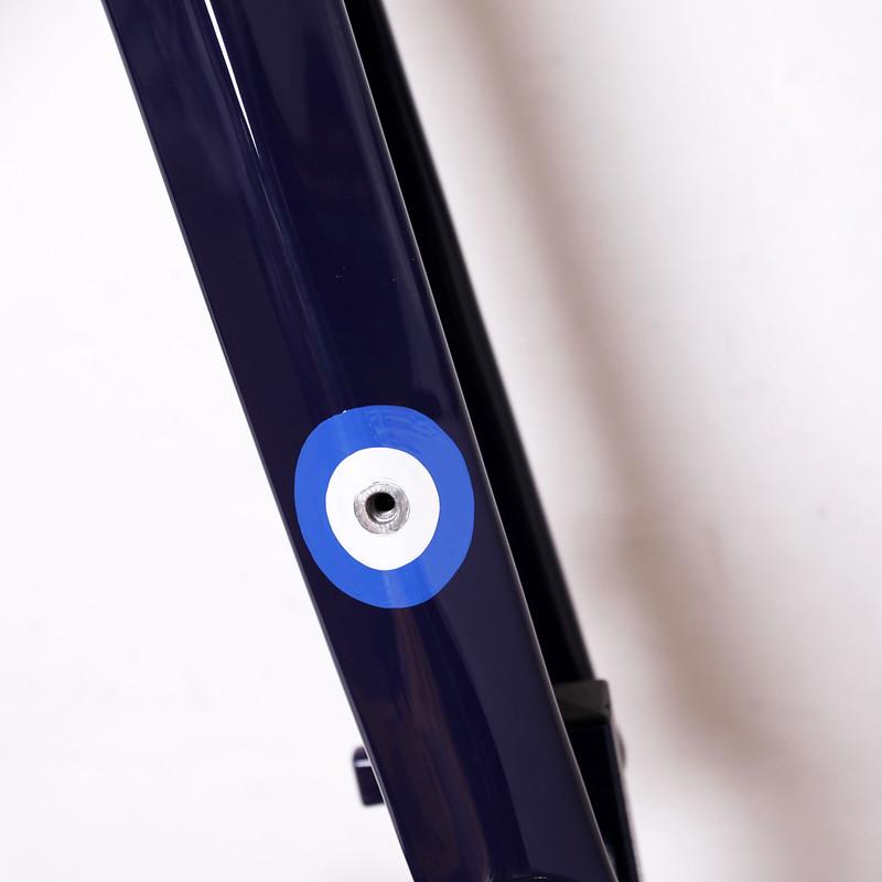 Boardman Bikes / CX Carbon Frame Set Repainted by Swamp Things