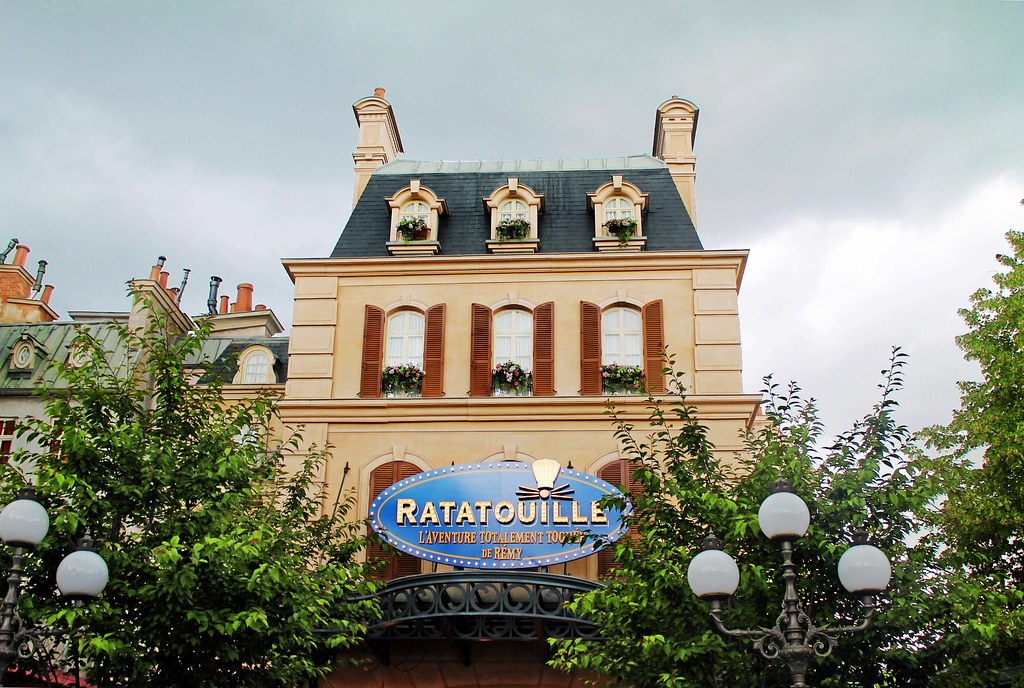 Drawing Dreaming - 10 razões para visitar a Disneyland Paris - Ratatouille