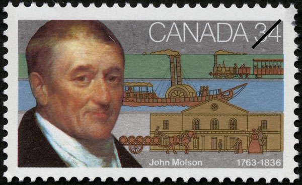 Molson-stamp