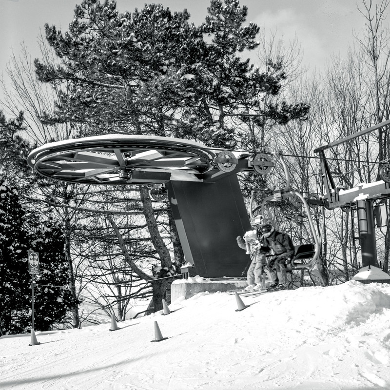 Top End of the West Hill Chairlift
