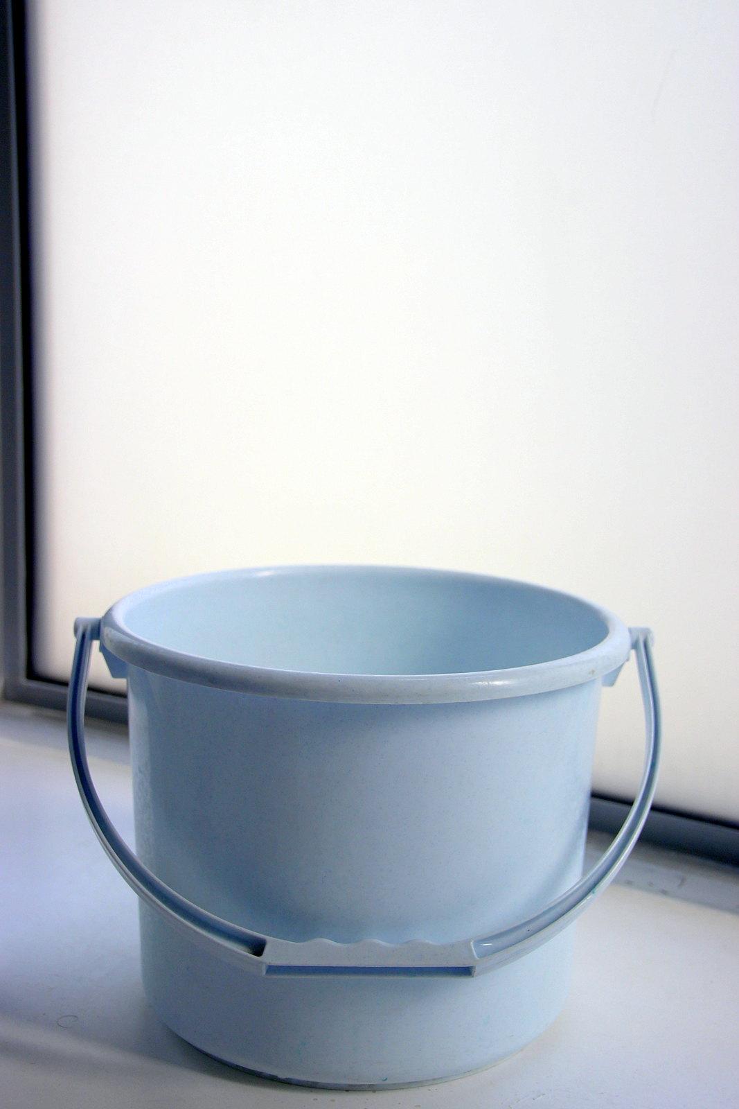 baby blue pail