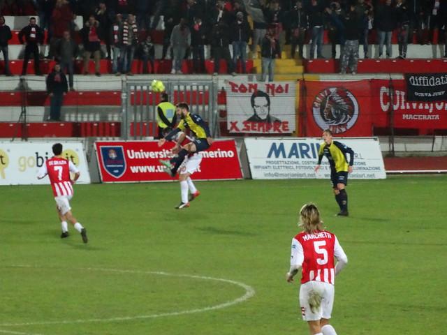 Maceratese - Santarcangelo 1-1