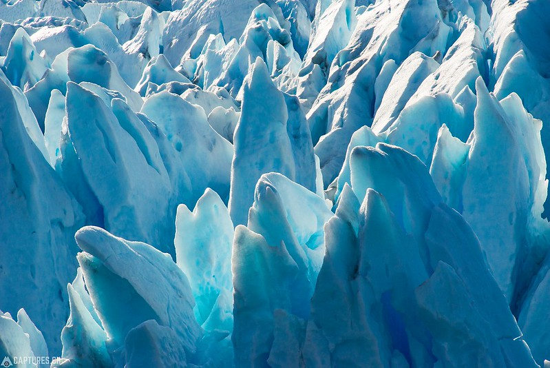Ice pinnacles - Parque Nacional Los Glaciares
