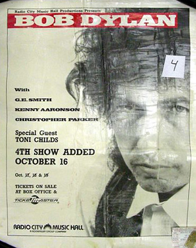 1988-10-18 New York poster