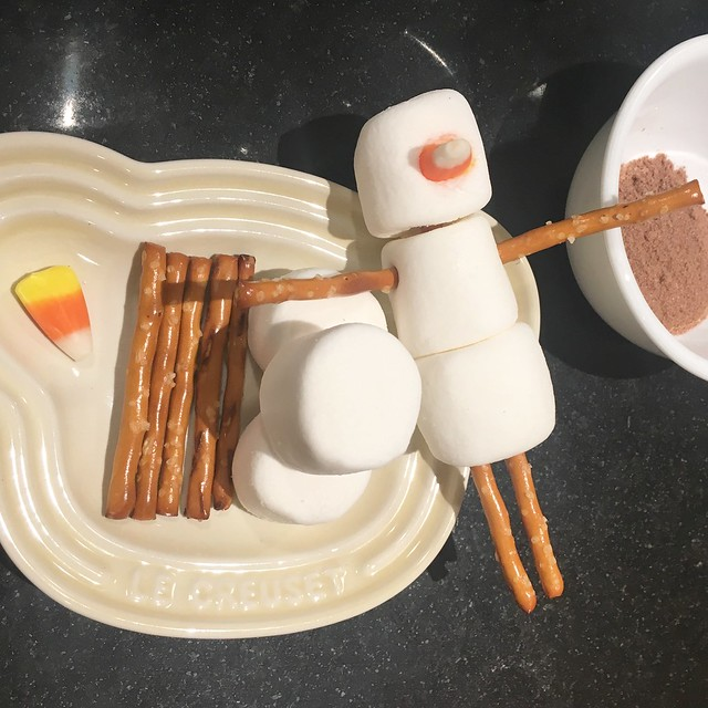 Marshmallow Snowmen Ingredients