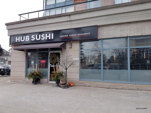 Hub Sushi Fusion Japanese Restaurant exterior
