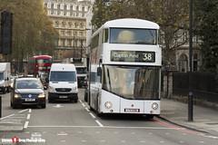 Wrightbus NRM NBFL - LTZ 1226 - LT226 - YouTube CF - Clapton Pond 38 - Arriva London 38 - London - 161126 - Steven Gray - IMG_5226
