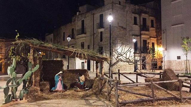 Noicattaro. Presepe piazza 2016 intero