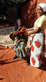 From the income she gets from her farm, Siza Mkini can now buy clothes for her grandmother and her siblings too.