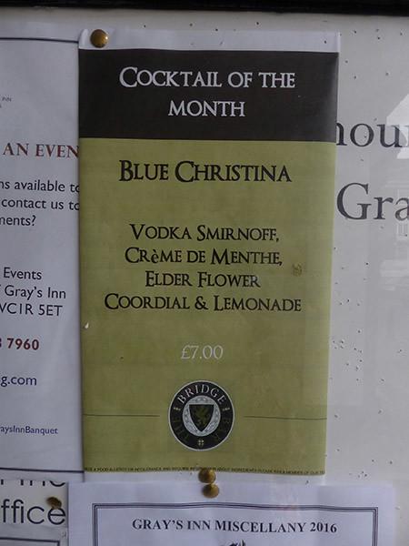 blue christina