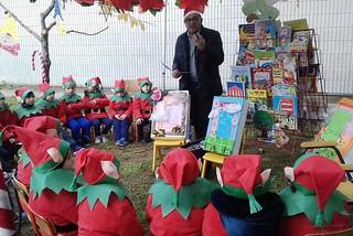 Noicattaro. Il Villaggio di Babbo Natale alla Sabin front