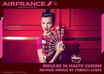 Air France France is in the Air Gastronomía (Air France)