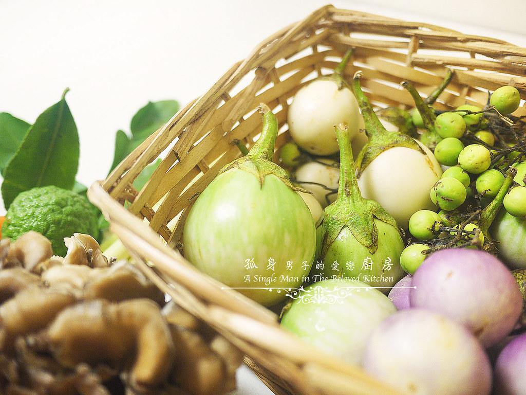 孤身廚房-滿滿新鮮香料版的泰式綠咖哩雞3