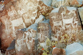 Little Petroglyph Canyon, Coso Range | by yourmap