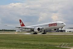 Boeing 777-3DEER (c/n 44583/1383, HB-JNB) Swiss Global Air Lines