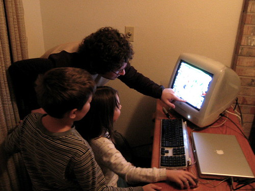 Oops, Oh No! Henry shows the kids Kid Pix | by Jennie Robinson Faber