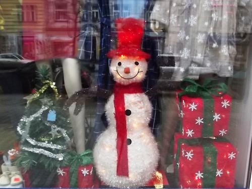 festive snowdude guy