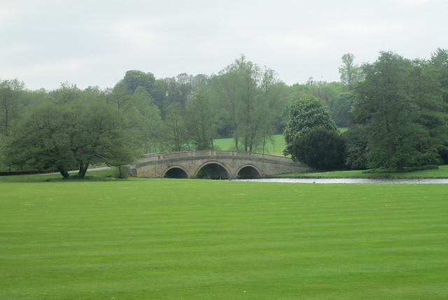 Landscaped Bridge, Audley End