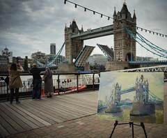 Tower Bridge in watercolour