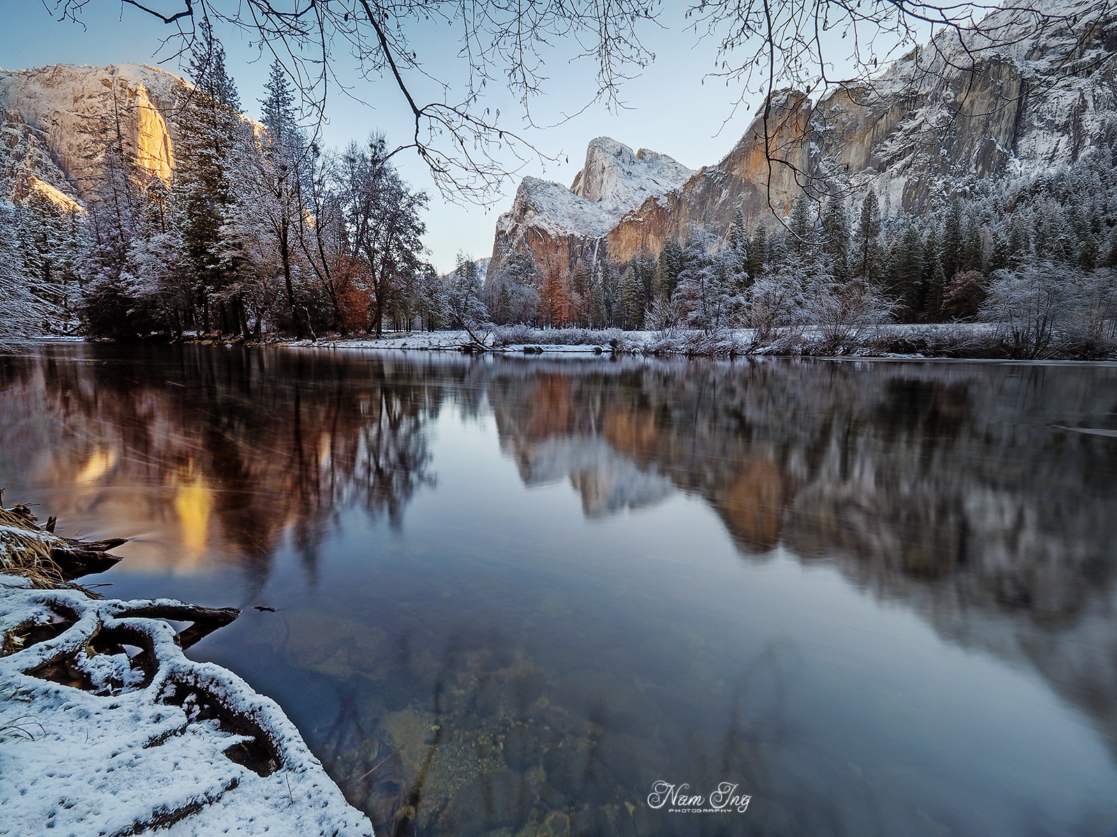 Noël au Yosemite 31859559986_2c99b7bc30_h