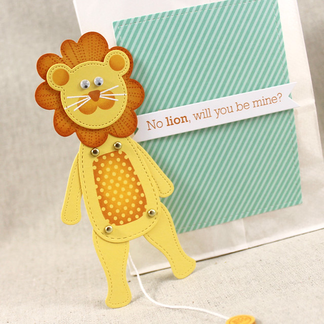 Lion Jumping Jack & Treat Bag
