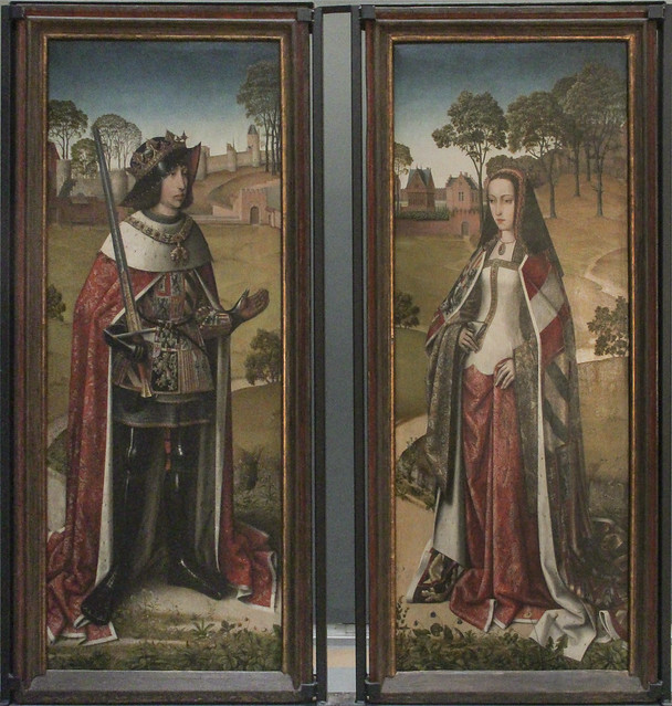 Shutters of the trptiek of Zierikzee, South Dutch School, 1495-1506