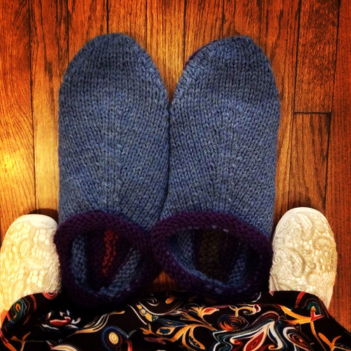 Felted Clogs, unfelted