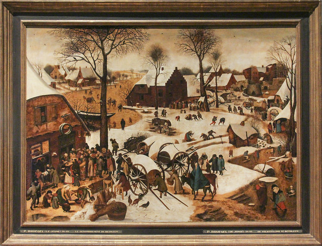 The Census at Bethlehem Pieter Brueghel II