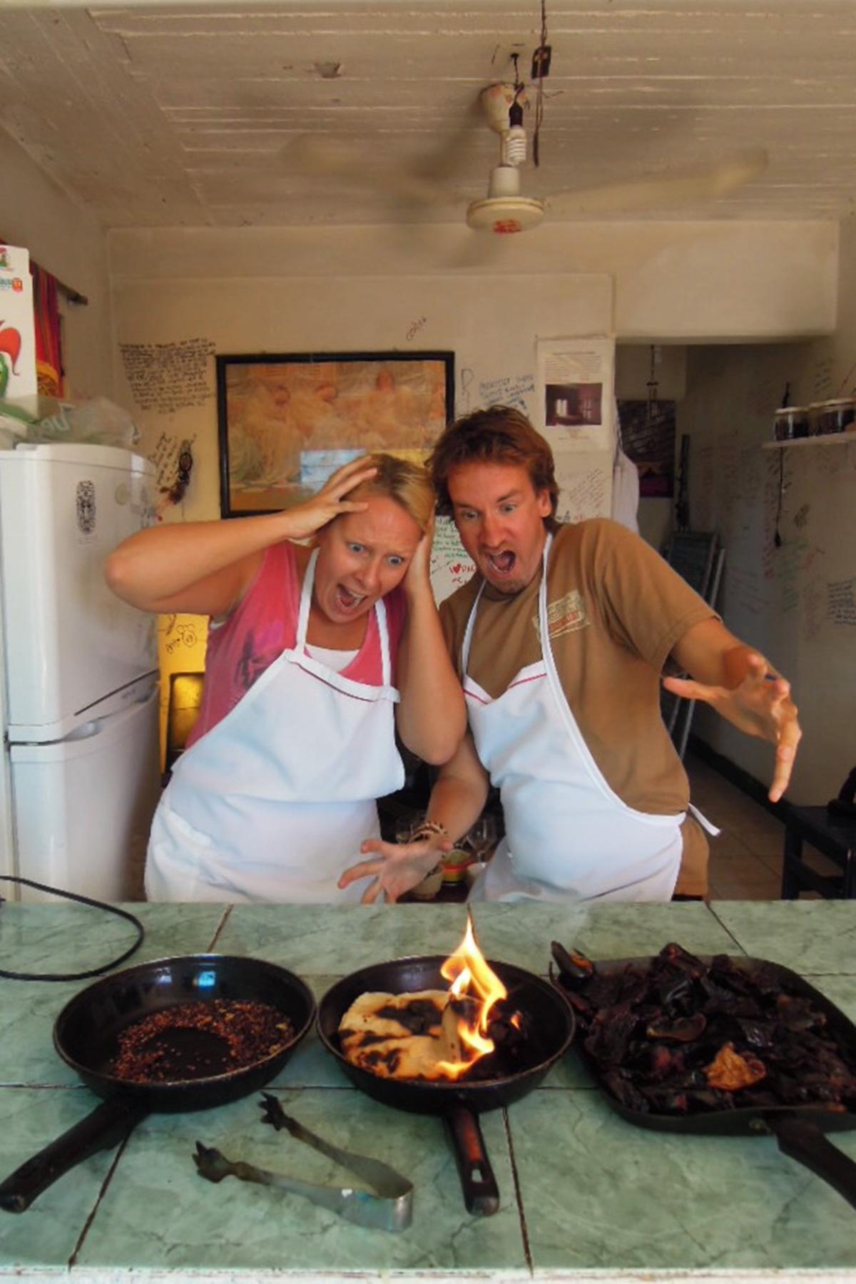 Oaxaca kokkikurssi