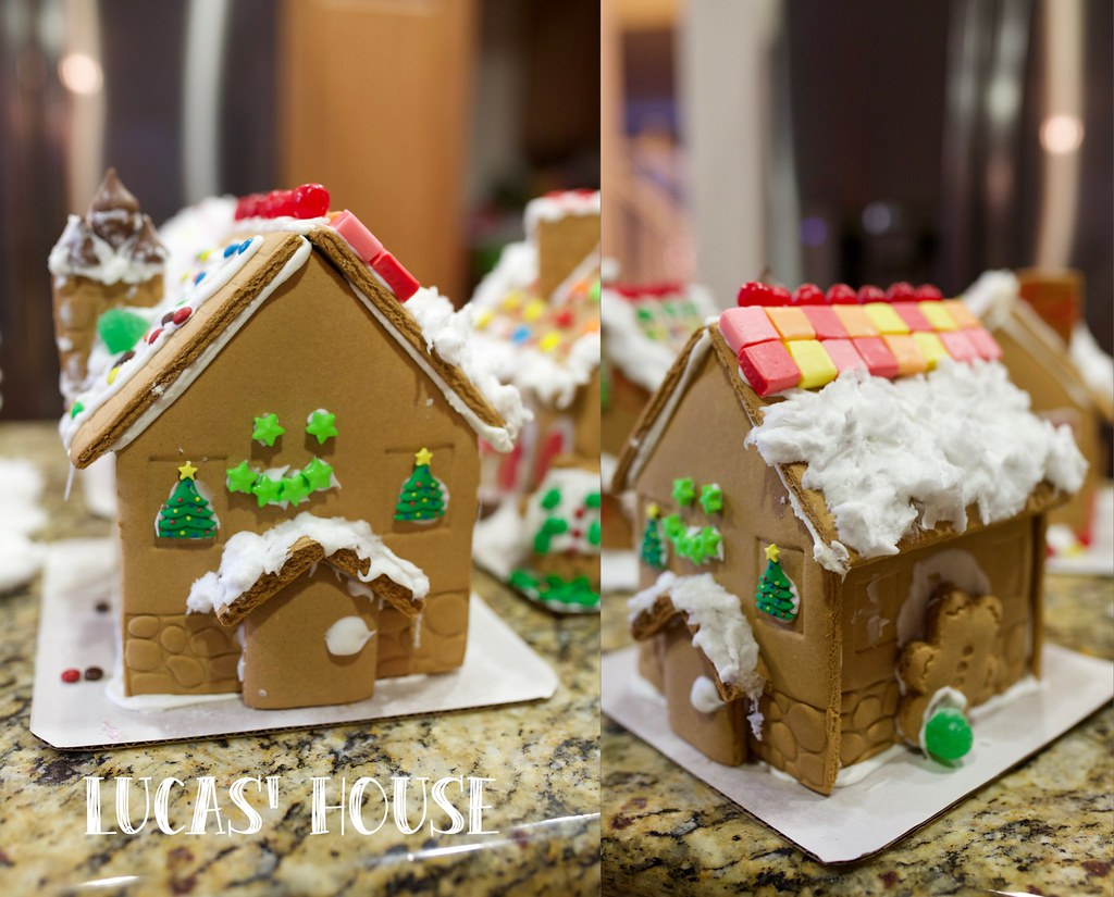 Gingerbread house-L