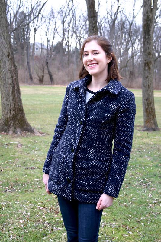 McCall's 7058 | Polka Dot Coat