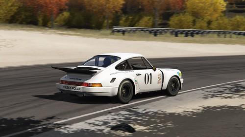 Porsche 911 Carerra RSR - Vadek Polak Racing - Milt Minter - IMSA GT 1976