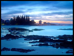 """Gold Coast at Dusk"" Queensland 