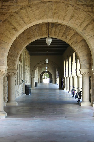 Stanford University Hallway | by jeffpearce