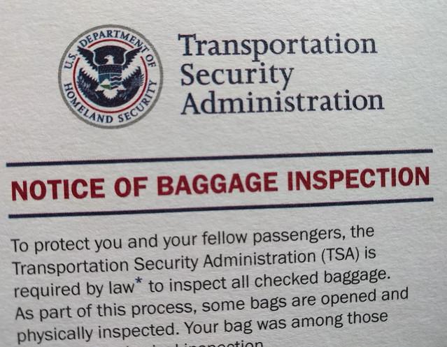 Thanks, TSA