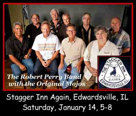 Robert Perry Band with the Original Mojos 1-14-17