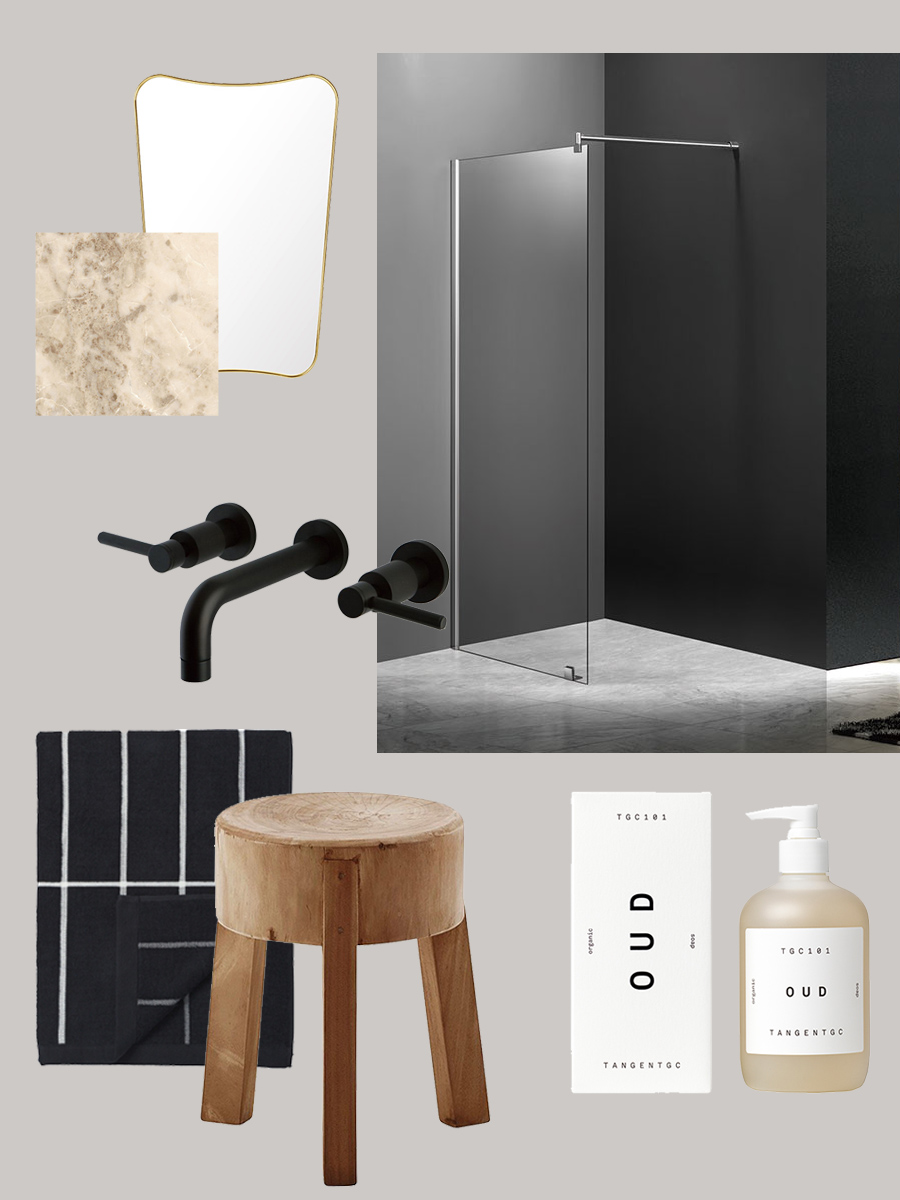 where to being when building a bathroom