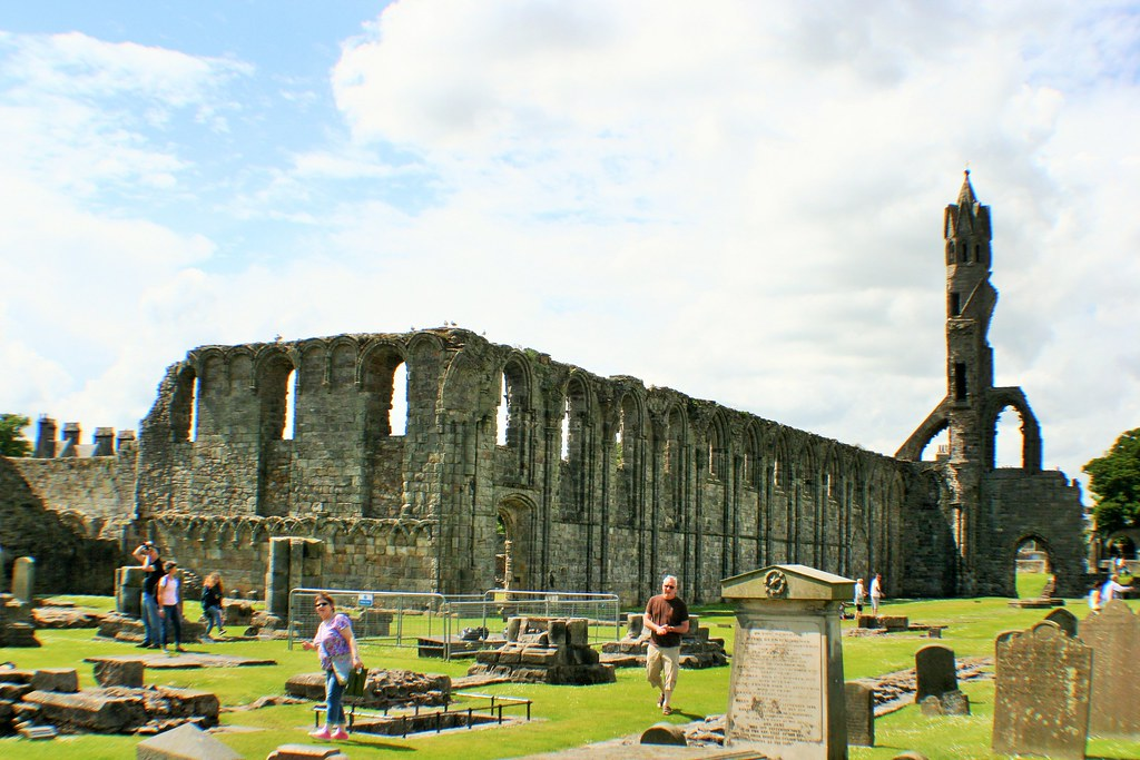 St Andrews Cathedral, Fife, Scotland.